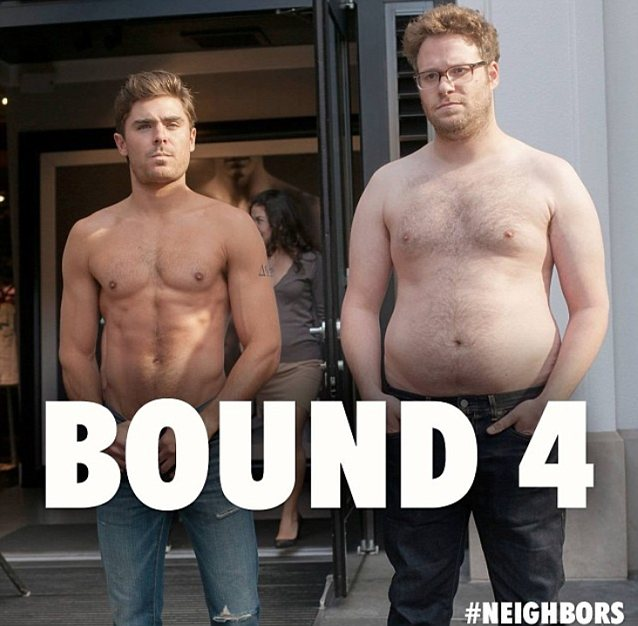 Zac Efron and Seth Rogen Bound 4