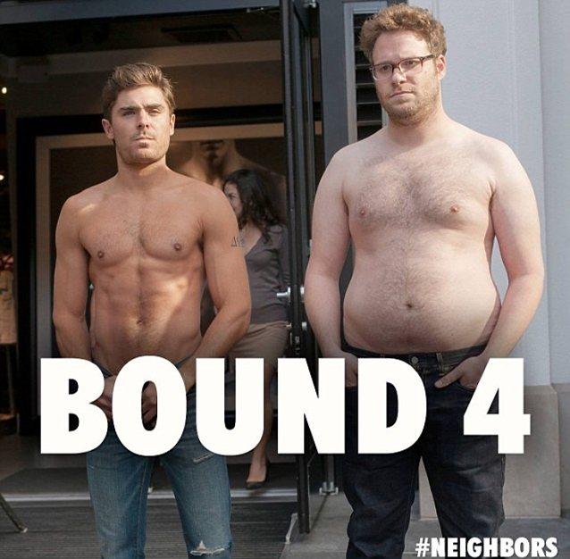 Zac Efron and Seth Rogen Bound 4