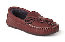 Canoe Grain Moccasins in Russet from Manitobah Mukluks