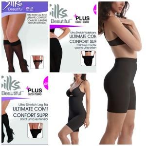 Silks Beautiful Hose and Shapewear for Curvy Girls