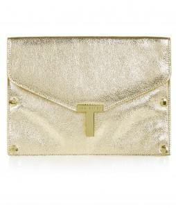 gold _detachable front clutch