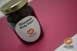 Succulent Chocolates Chocolate Body Paint