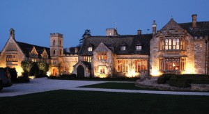 Ellenborough exterior in the evening