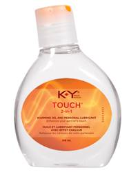 K-Y Touch 2 in 1 Warming Oil