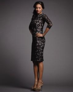 Rent Frock Repeat black lace dress