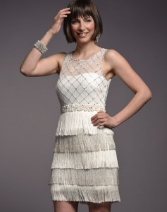 Rent Frock Repeat Cream Fringe Dress