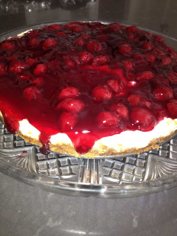 best cherry cheesecake ever