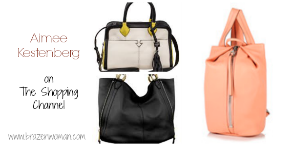 Aimee Kestenberg handbags on The Shopping Channel