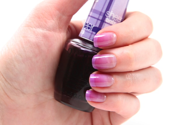 Spring Trend: Multi-Dimensional Nail Colour: OPI Sheer Tints