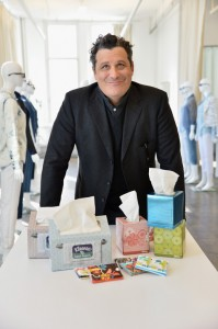 Isaac Mizrahi & Kleenex Partner up to Celebrate 90 Years of Tissue