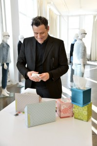 Kleenex Brand Production Day With Isaac Mizrahi