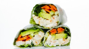 Get Fresh and Thai one on with with these Zesty Shrimp Rolls