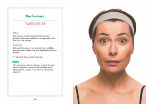 Forehead Exercise from the 5-Minute Facial Workout