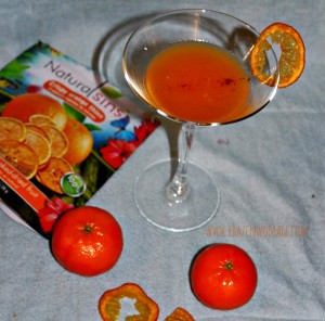 Sunshine Martini made with Wódka Żołądkowa Gorzka