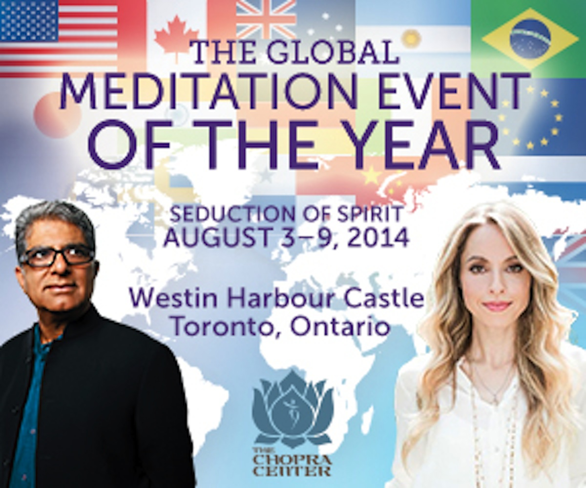 Deepak Chopra Spiritual Retreat