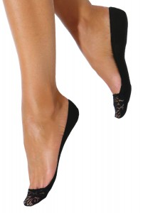 Secret-Low Cut Padded Lace Footcover