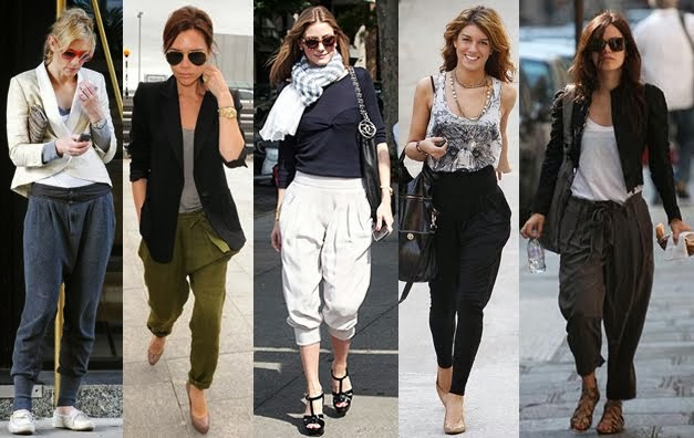 Hot trend alert: How to wear the new harem pants