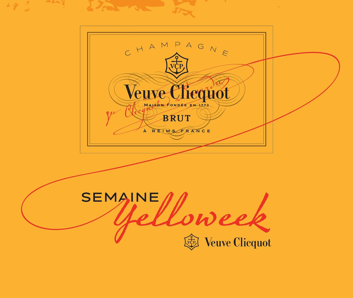 Yelloweek 2014 from Veuve Cliquot