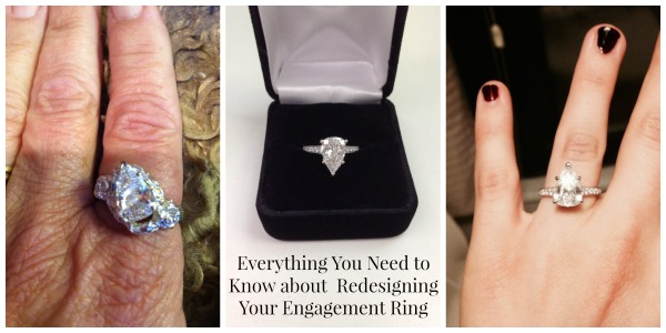 How To Redesign Your Engagement Ring So You 39 Ll Wear It