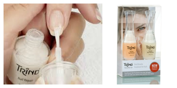Save your dry, damaged, brittle nails with Trind Keratin Nail Treatment