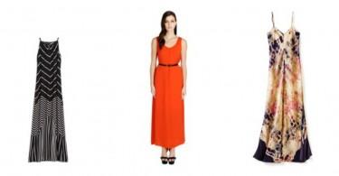 Summer's Prettiest Maxi Dresses
