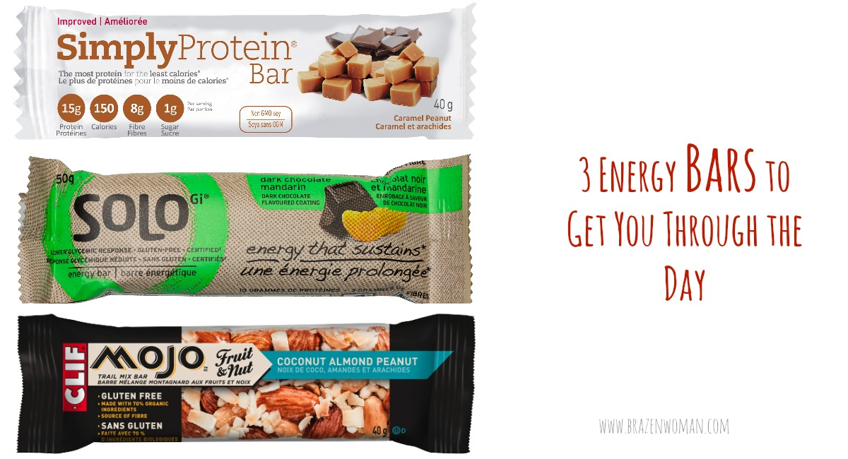 3 Energy Bars to Get You Through the Day
