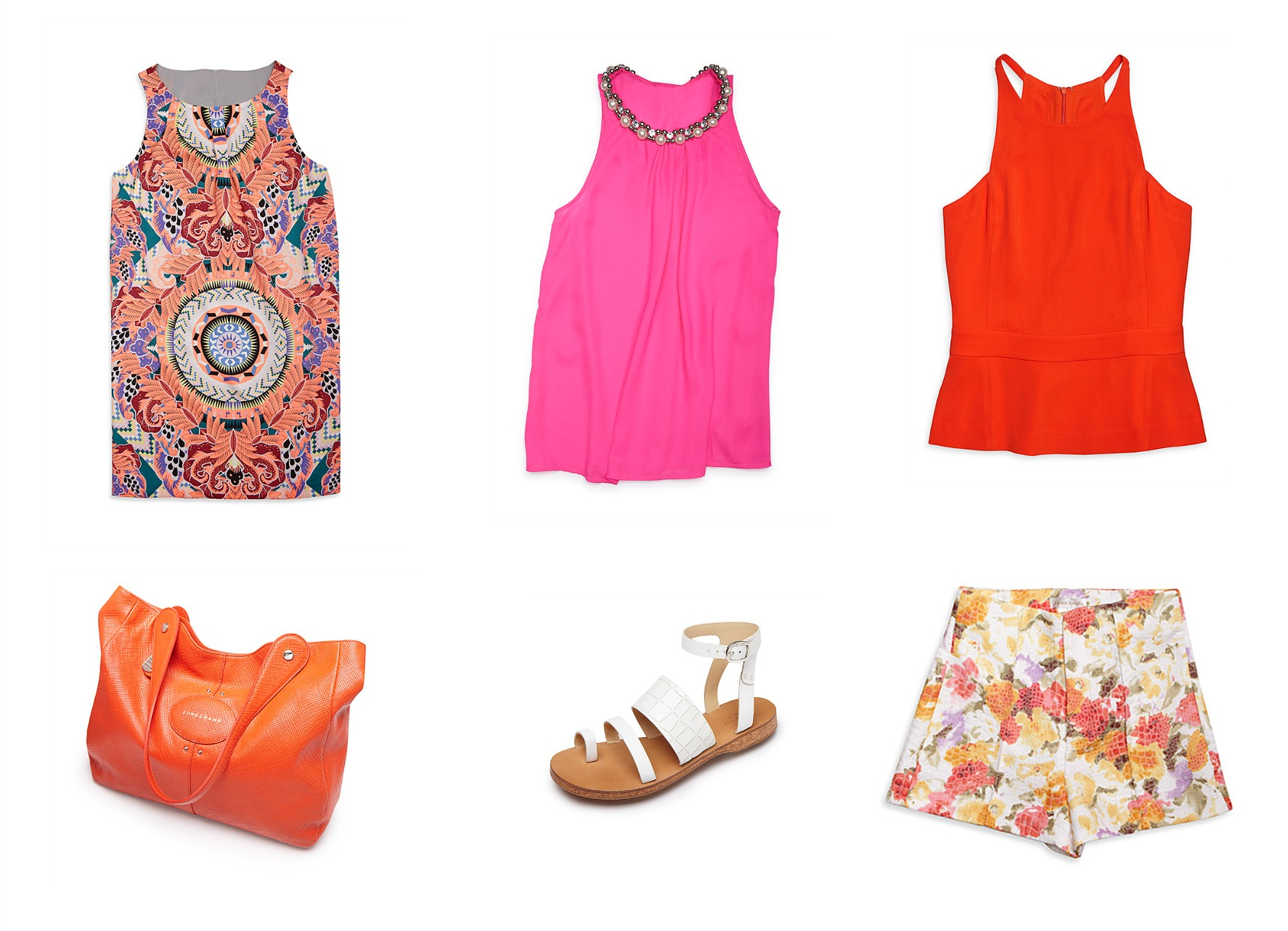 How to Insert Colour into your Summer Wardrobe