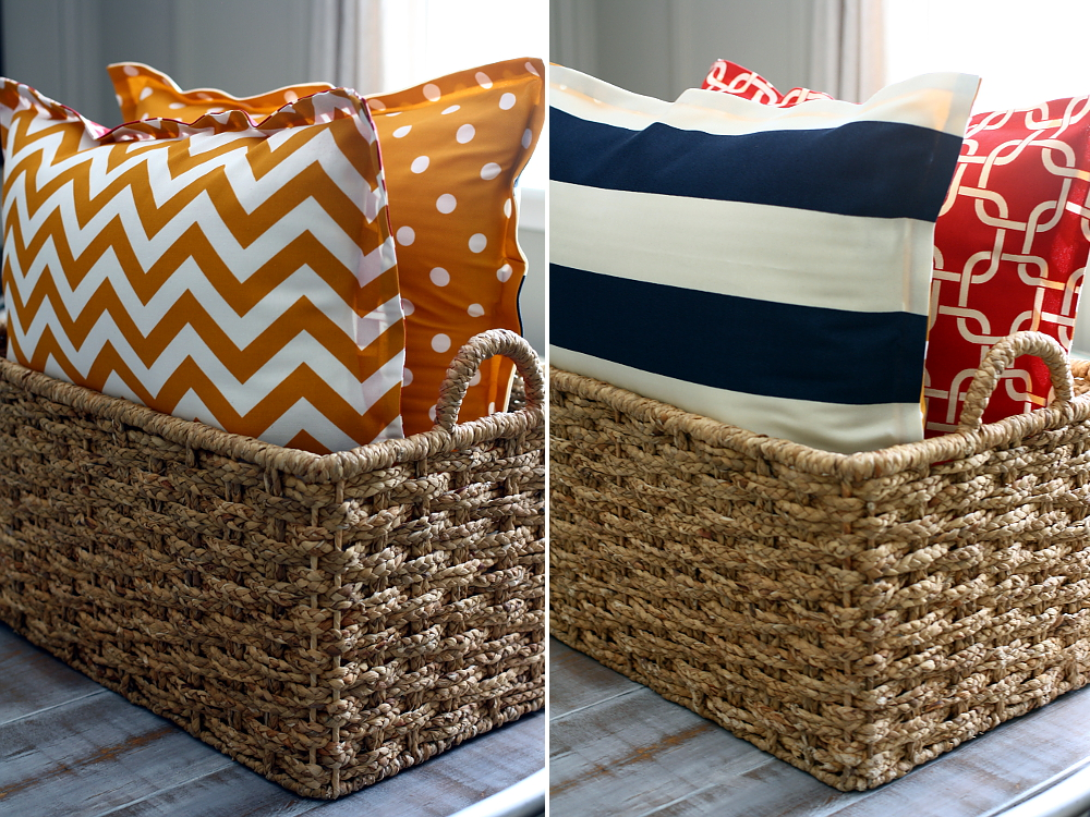 Diy Outdoor Floor Pillows : No Sew DIY Floor Pillows