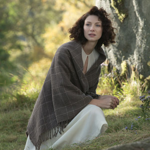 Caitriona Balfe shines as Claire Randall in Showtime's Outlander