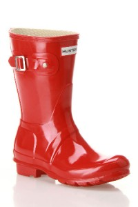 Red Hunter Wellies from Beyond the Rack