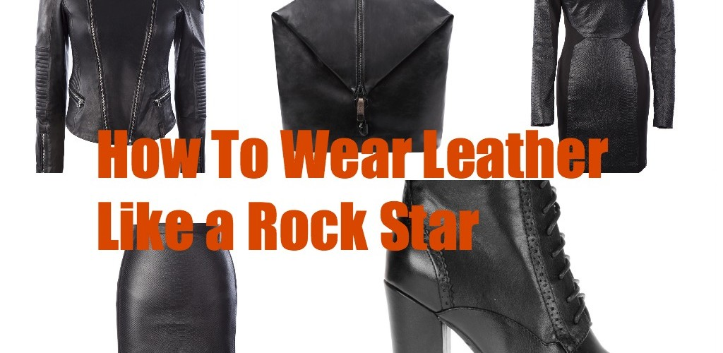 5 ways to wear fall's leather trend