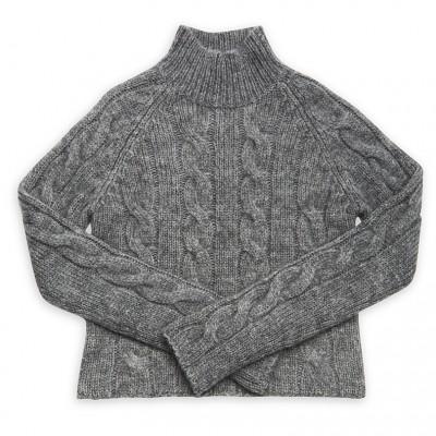 Sweater, PINK TARTAN