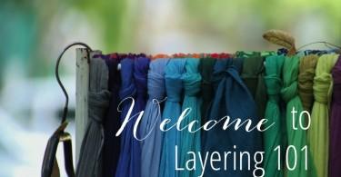 Fall Fashion Layering 101