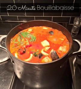 20 Minute Bouillabaisse