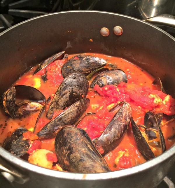 Fast & Easy Spicy Bouillabaisse
