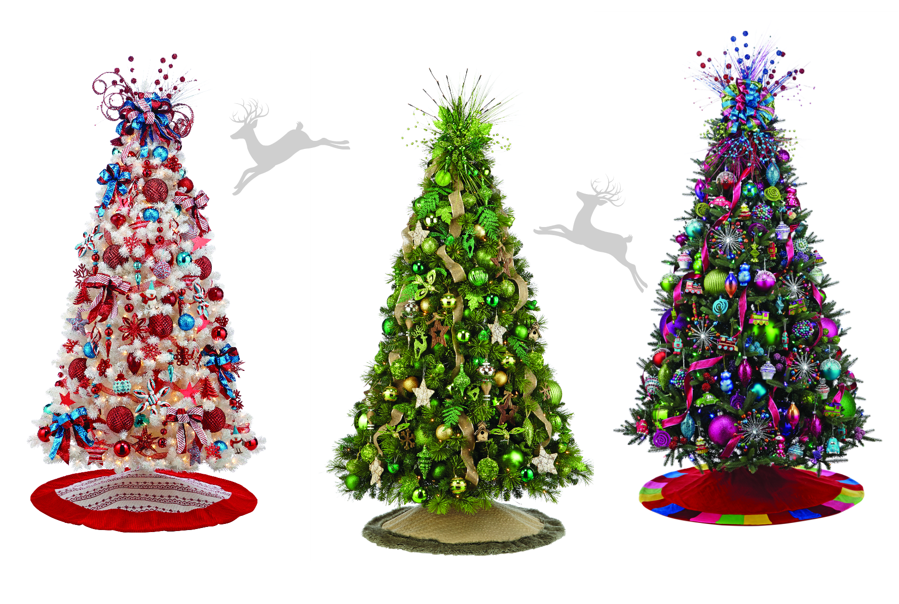 The 6 hottest colours for christmas tree decorations for 2014 christmas tree decoration