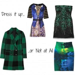 Haute for December Jewel Toned Dresses