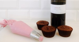The Best Valentine's Day Dessert: Decadent Chocolate Merlot Cupcakes