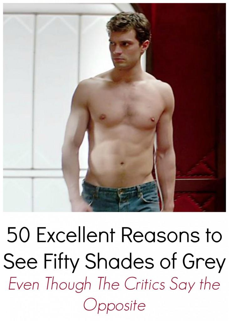 50 Reasons to See Fifty Shades of Grey