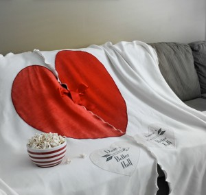 Couples blanket from Broken Ghost Clothing in Calgary