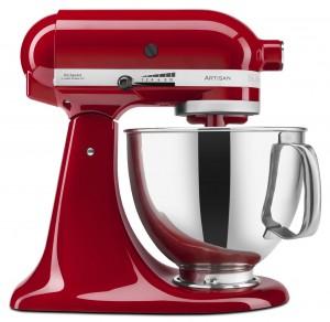 Artisan® Series 5-Quart Tilt-Head Stand Mixer in Empire Red