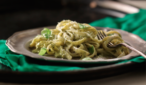 Going Green for St Patricks Day - Emerald Isle Pasta