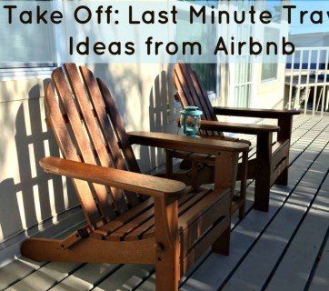 Last Minute Travel Ideas from Airbnb