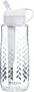 Brita 1L Chevron hard sided filtered bottle (unlabelled)