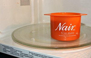 Nair Cire Divine in Microwave