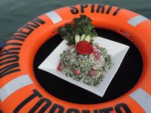 Sweet Summer Lunch- Kale Quinoa Berry Salad