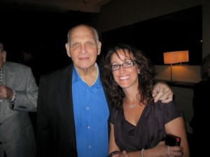 Mara Shapiro and her Dad