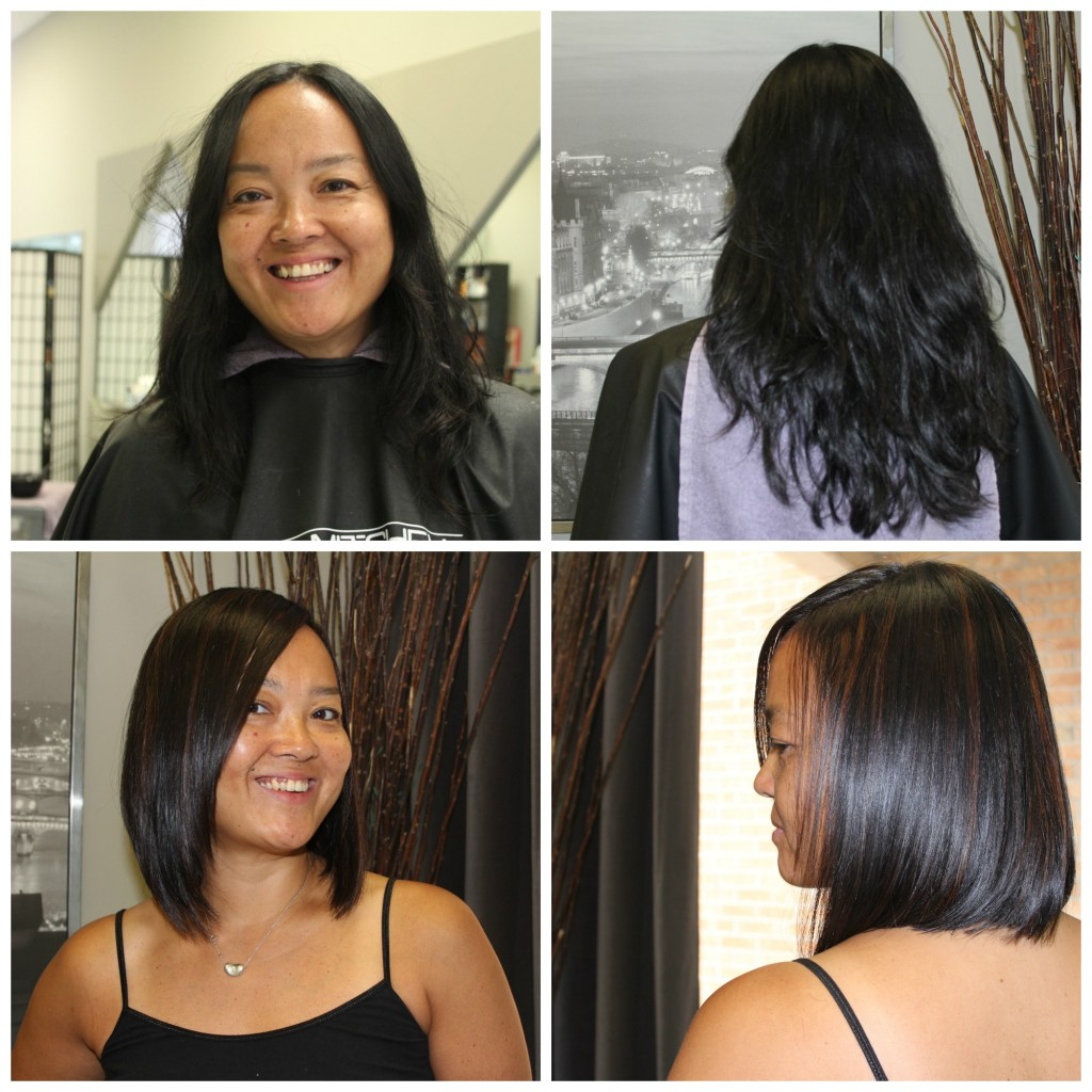 Dress Mavens Makeover - Hair Before and After