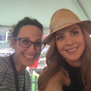 Mara Shapiro and Sarah Rafferty