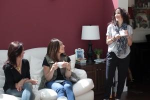 The Brazen Editors having fun at the Dress Mavens makeover